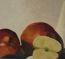 manzanas rojas I by coralina