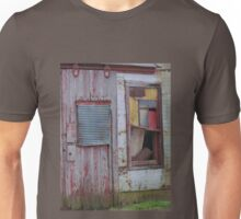Abandoned in primary colors Unisex T-Shirt