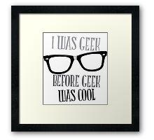 Geek Pride Framed Print