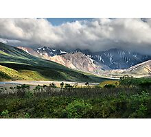 Photographer's Palette of Color - Denali NP Photographic Print