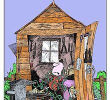 The Careless Lumberjack's Shed by Stilly
