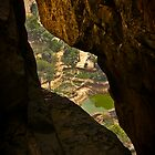 Through the rock  by Saka