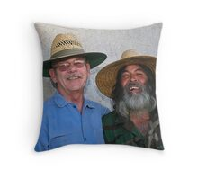 "' Pleased to meet you , hope you guessed my name "". Throw Pillow"