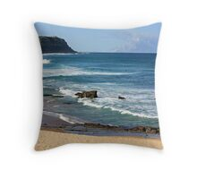 The Last Day Of Autumn Throw Pillow