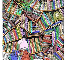 The Careless Lumberjack's Library by Stilly