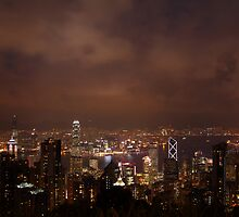 Victoria Harbour - Hong Kong by Mark Bolton