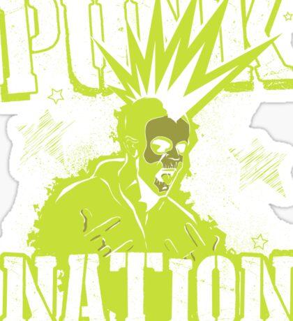 Punk Nation Sticker