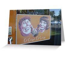 Get Ginger Greeting Card