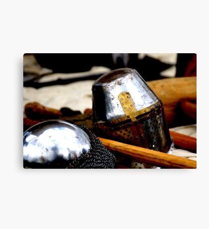 Medieval Health & Safety Canvas Print