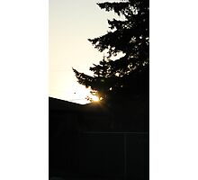 Stealing Sunshine Photographic Print