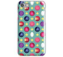 Crystal Gem Pattern iPhone Case/Skin