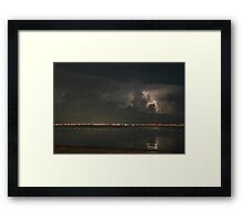 Tampa Bay Lightning Framed Print