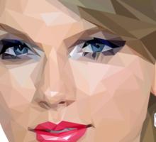 Taylor Swift - LowPoly Portrait Sticker