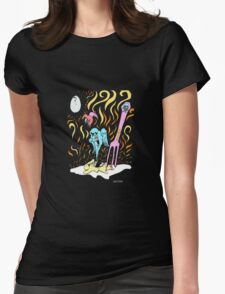 EGGELCENT Womens Fitted T-Shirt