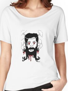 atomic jesus Women's Relaxed Fit T-Shirt