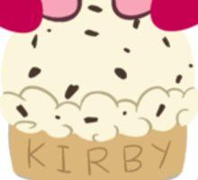 Kirby Cake Cone Sticker