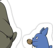 Totoro March! Sticker