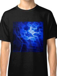 Abstract software algorithm flowchart art photo print Classic T-Shirt