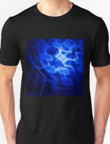 Abstract software algorithm flowchart art photo print T-Shirt
