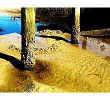 Sunken Post Photographic Print