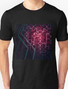 Abstract Algorithm Flowchart Background art photo print T-Shirt