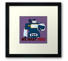 Transformers - We Want You - Decepticons Framed Print