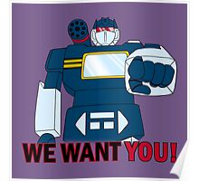 Transformers - We Want You - Decepticons Poster