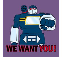 Transformers - We Want You - Decepticons Photographic Print