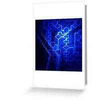 Flowchart algorithm diagram background art photo print Greeting Card