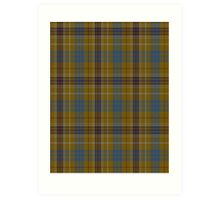 00118 Ottawa District Tartan  Art Print