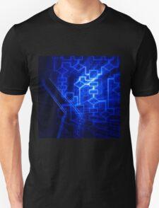 Flowchart algorithm diagram background art photo print T-Shirt