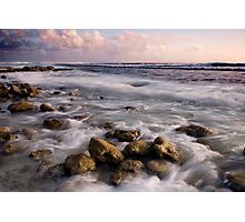 Sunset at the Shack - Cocos (Keeling) Islands Photographic Print