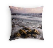 Sunset at the Shack - Cocos (Keeling) Islands Throw Pillow