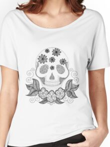 Dot Dot Skull Women's Relaxed Fit T-Shirt