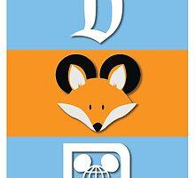 The Disney Fox iPhone Case! RETRO by TheDisneyFox