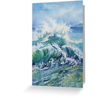 Wave 1 Greeting Card