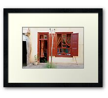 Beijing Window Framed Print