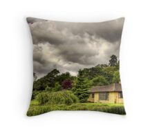 Canalside Residence - Near Blisworth Throw Pillow