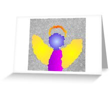 Little Angel Wings Greeting Card