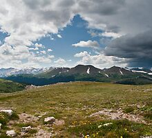 Trail Ridge Road, Rocky Mountain National Park, Colorado, USA by Rob Schoon