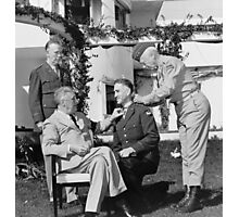 FDR Presenting Medal Of Honor To William Wilbur Photographic Print