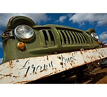 Grans Truck Photographic Print