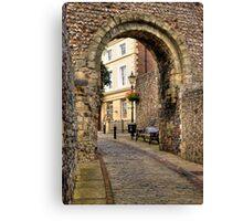 Castle Gate - Lewes Canvas Print