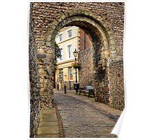 Castle Gate - Lewes Poster