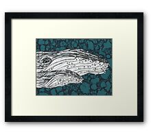 Humpbacks 6 Framed Print