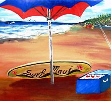 Surf Maui.....'69 by WhiteDove Studio kj gordon