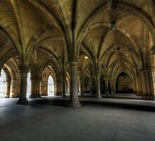 Glasgow University Cloisters by Daniel Davison