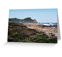 Cape of Good Hope, South Africa Greeting Card