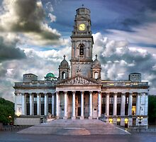 Isolated Guildhall, Portsmouth, England by GordonScott