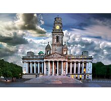 Isolated Guildhall, Portsmouth, England Photographic Print